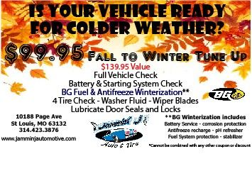 Prepping Your Car For The Upcoming Winter With Jammin' J Auto