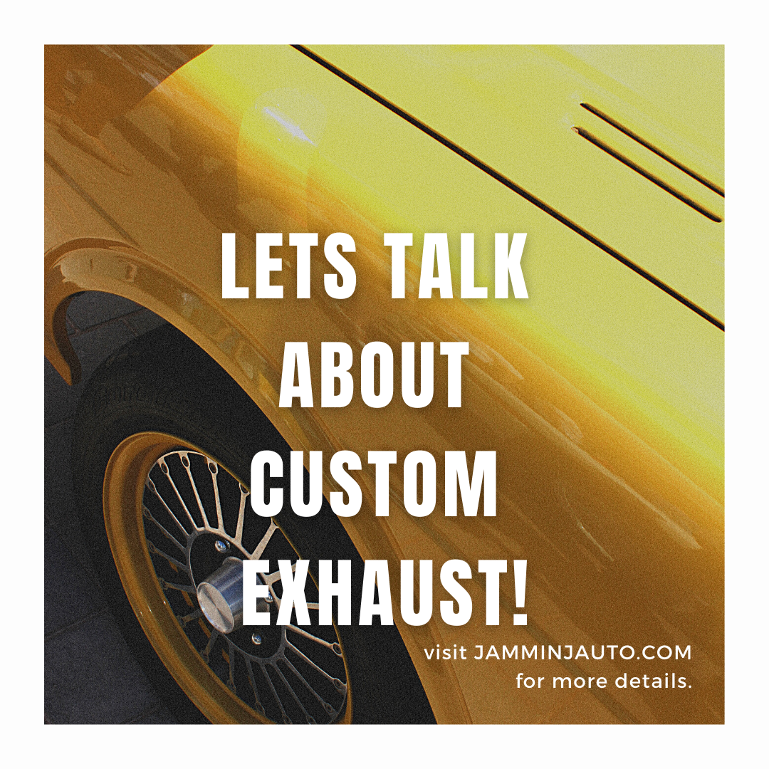 Why Jammin J Is The Best In St. Louis For Custom Exhaust On Your Car!